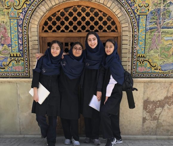 MYP students visited Golestan Palace