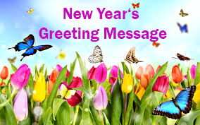 New year 's Greeting Message