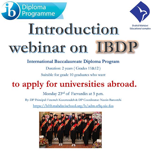 Introducton webinar on IBDP